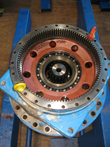 Inspection and revision on gearbox Flender P3NB-9