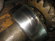 Inspection and revision on gearbox Hansen D 623