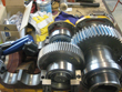 Inspection and revision on gearbox Hansen II-A33K-28-ANBR