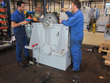 Revision and inspection on gearbox Jahnel Kestermann AU 67
