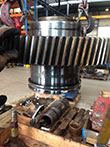 Inspection and revision on gearbox Jahnel Kestermann M-1306-1