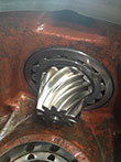 Inspection and revision of bow thruster on a Lips gearbox