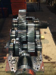 Inspection and revision on gearbox M.A.N.-1