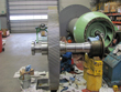Visual inspection on gearbox Demag HVK32-2