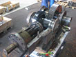 Inspection and revision on gearbox PHB KSZg 355 Pu