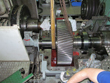 Inspection and revision on gearbox Renk HSN-710 in Curacao