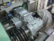 Inspection and revision on gearbox Renk HSN 710