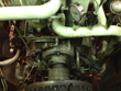 Inspection and temporary repair of an Renk Gearbox