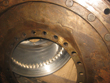 Inspection and revision on two friction shafts of gearbox  RHENANIA