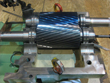 Inspection and revision on gearbox TGW 107