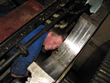 Inspection and repair on gearbox VALMET