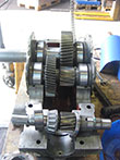 Inspection and revision on a WGW KCN 140 gearbox